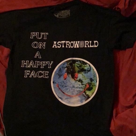 ea020d912339 travis scott Shirts | Limited Astroworld Merch | Poshmark
